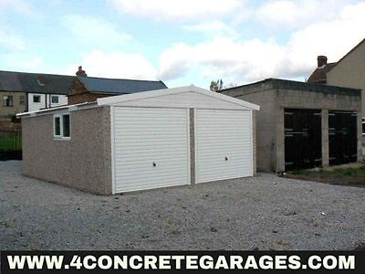 Apex Double Garage 16ft6in x 14ft3in installed *conditions apply £3,410