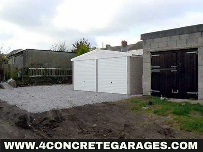 Apex Double Garage 16ft6in x 22ft3in installed *conditions apply £4,380