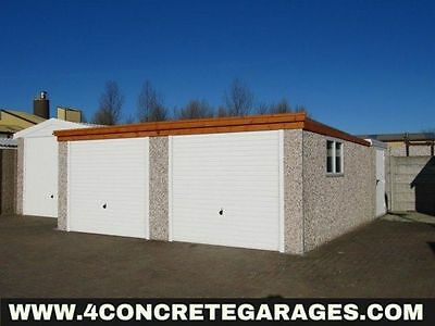 Pent Double Garage 16ft6in x 20ft3in installed *conditions apply £3,430