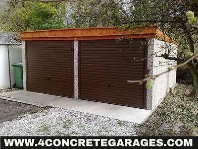 Pent Double Garage 16ft6in x 24ft3in installed *conditions apply £3,840