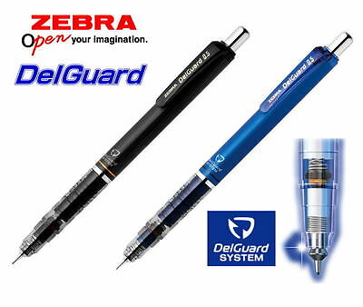 HB Zebra DelGuard 0.5mm Lead Mechanical Pencil P-MA85-Pink 40Leads +5 Erasers