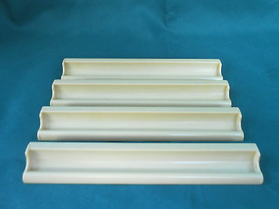 Scrabble Plastic Tile Holder Racks for Replacement - Spare Part - Craft Used x 4