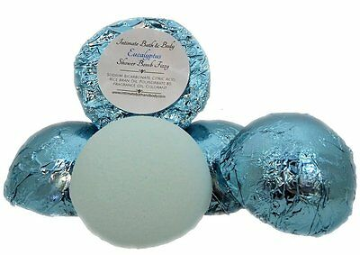 Shower Bomb Fizzies! 5 Pack Aromatherapy Shower Steamers - Eucalyptus