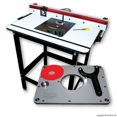 Jessem Master Router Table - with Insert Plate