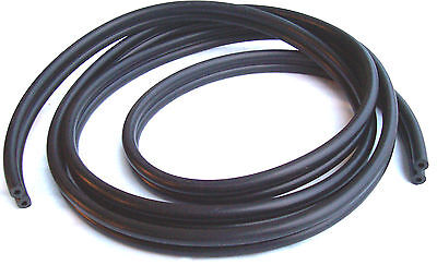 New Johnson Evinrude Omc Dual Double 2 Line Pressure Fuel Gas Tank Hose 6' Long