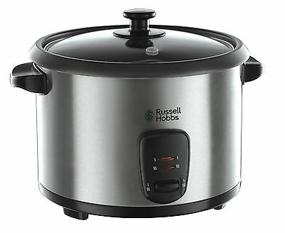 Russell Hobbs Rice Cooker and Steamer 19750, 1.8 L - Silver