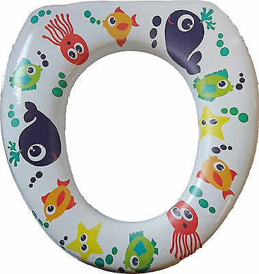 Sure Baby Toilet Training Seat Padded LightWeight, Easy Clean, Easy Transport UK
