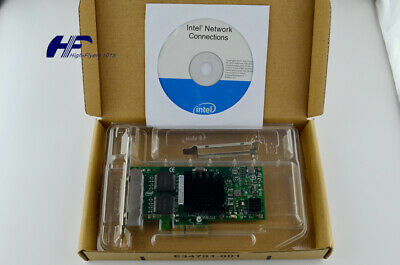 NEW Intel OEM I350T4V2BLK Ethernet Server Adapter Gigabi 4-Port RJ45 PCI-Express