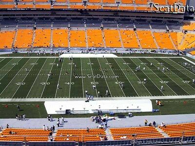 (2) Steelers vs Browns Tickets 50 Yard line Upper Level Visitor's Side!!