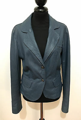CULT VINTAGE '80 Giacca Donna Pelle Woman Leather Jacket Sz.M - 44