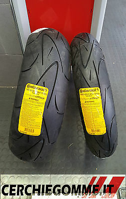 Coppia Gomme Moto Michelin Pilot Power 120/70 17 180/55 17 Pneumatici Dot 2017