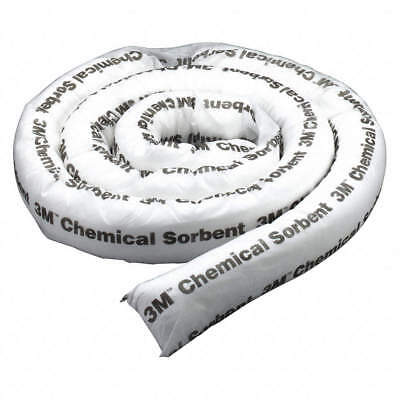 """3M Chemical Absorbent Boom Socks, P-212, 12' x 3"""", Case of 4"""