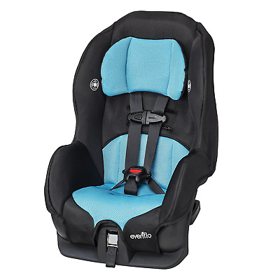Baby Car Seat Evenflo Tribute LX Safety Convertible Child Toddler Infant Neptune