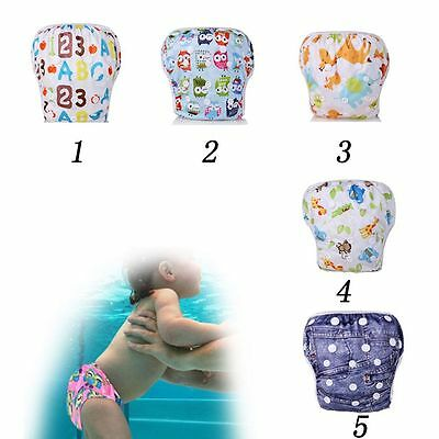 Reusable Washable Waterproof Nappy Baby Product Summer Pants Swim Diaper