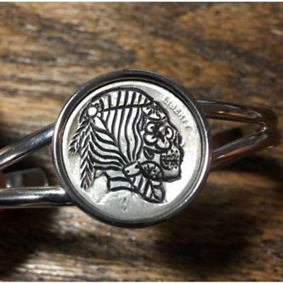 Huntress Bracelet - Hobo Nickel ***Rev Tye's Stache*** #HBN32115