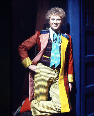 Colin Baker UNSIGNED photo - H8028 - Doctor Who