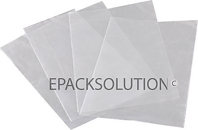 "200 Clear Poly Bags 7"" X 10"" 3Mil Bottom Seal Plastic Bags"