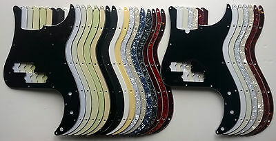 Precision Bass Pickguard fits US scratchplate - various colours