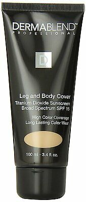 Dermablend Leg and Body Cover SPF 15 Caramel 3.4 oz