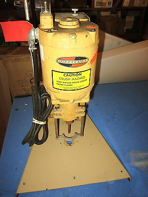 Vintage Challenge Paper Drill Model-Jo Serial 43512 Made In Usa