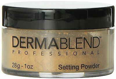 Dermablend Loose Setting Powder Warm Saffronl 1 oz