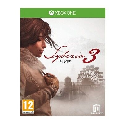 Syberia 3 XB1 | Xbox One  - Brand New