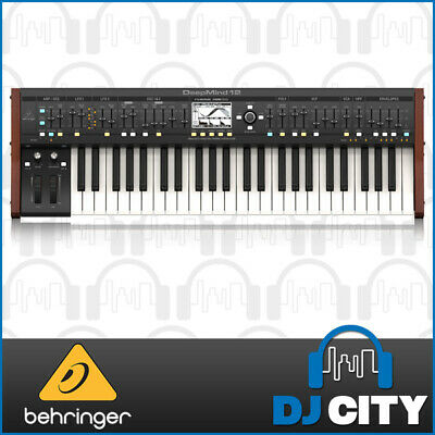 Behringer DEEPMIND12 Analog Synthesizer w/ 49 Semi-Weighted Keys & Aftertouch