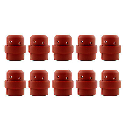 Gas Diffuser MIG - MB24 - Long Life - Red Silicone - 10 Pack - Binzel Style
