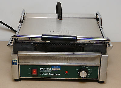 Waring Commercial Model WPG 250 Panini Supremo Grill Press