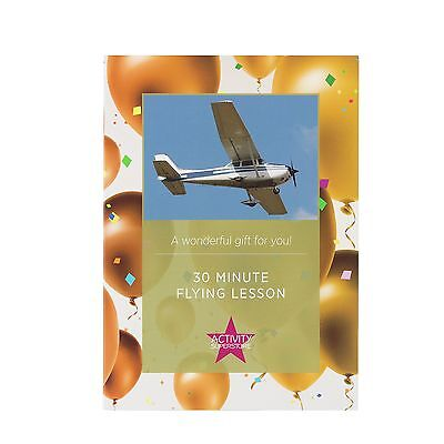 Activity Superstore 30 Minute Flying Lesson.From the Official Argos Shop