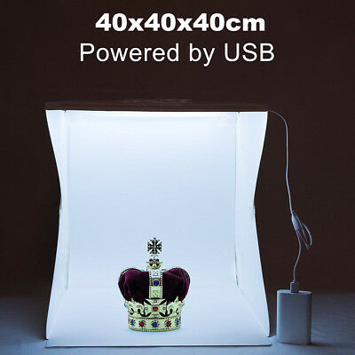 40cm Light Room Photo Studio Photography Lighting Tent Backdrop Cube Box