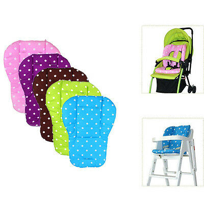 Hot Ultra Soft Baby Stroller Pram Pushchair Cotton Seat Liner Pad Cushion Mat