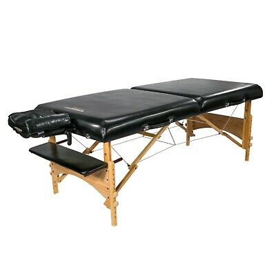 Master Massage 32 inch Extra Large Gibraltar Portable SPA Table Package Bed