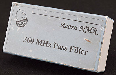 Acorn NMR 360MHz RF Radio Frequency Signal Pass Filter Module/Unit