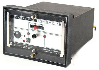ABB Asea Brown Boveri 51Y Circuit Shield Very Inverse Time Overcurrent Relay #2