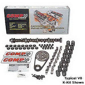 Comp Cams K68-200-4 High Energy 252H Hydraulic Flat Tappet Camshaft Complete Kit