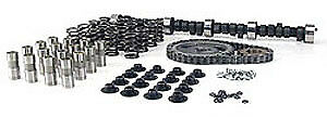 Comp Cams K12-244-4 Xtreme Marine Hyd. Flat Tappet Cam Complete Kit; Chevy Sma