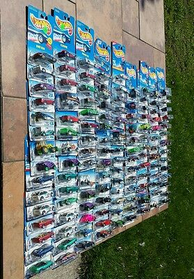 New Old Stock 1990's Huge Lot of 126 Hot Wheel Toy Car Truck Sealed