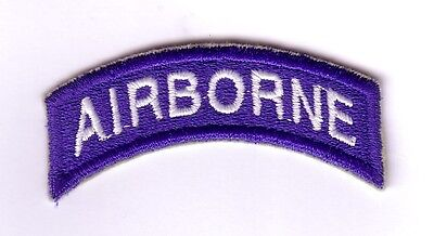 "WWII - AIRBORNE Tab ""Blue/White""(Reproduction)"