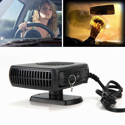 Auto Car Fan 200W Heater Vehicle Heating Cool Windshield Defroster Demister 12V