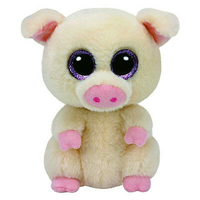 "Piggley The Piglet Plush Soft Toy, TY Beanie Boo's Collection 6"" (15cm)"