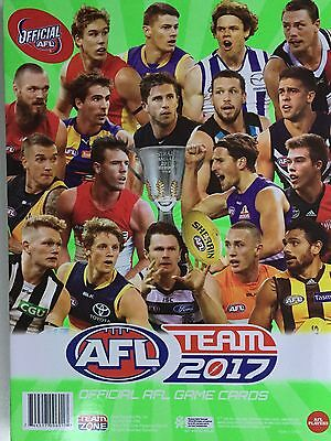 2017 Afl Teamcoach Album Only  Fits All Common Cards - No Cards Included