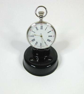 BLACK China Pocket watch stand watch display stand (choice of 2 colours)