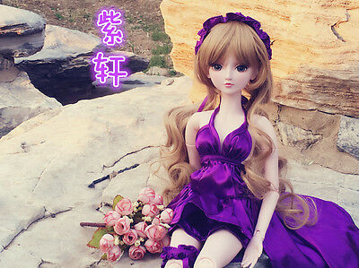 "24"" New 1/3 Handmade PVC BJD MSD Lifelike Doll Joint Dolls Baby Gift New Emily"
