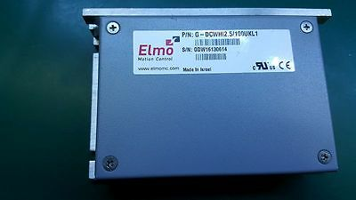 Elmo G-DCWHI2.5/100UKL1 Gold DC Whistle Digital Servo Drive