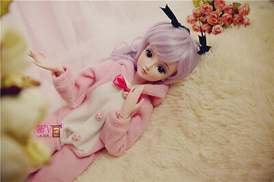 "24"" New 1/3 Handmade PVC BJD MSD Lifelike Doll Joint Dolls Baby Gift New Alina"