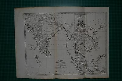 1788 A MAP OF THE EAST INDIES  - JOHN BLAIR / T KITCHEN  Original