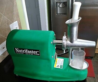 Nutrifaster G160 Commercial Grade Wheatgrass Juicer