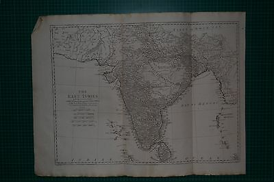 1788 East Indies Including More Particularly The British Dominions On The Contin