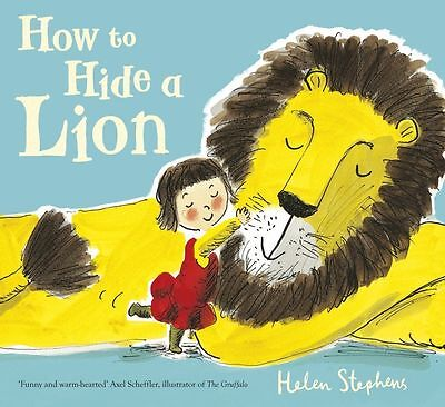 How to Hide a Lion by Helen Stephens (Board book, 2013)-9781407139630-F060